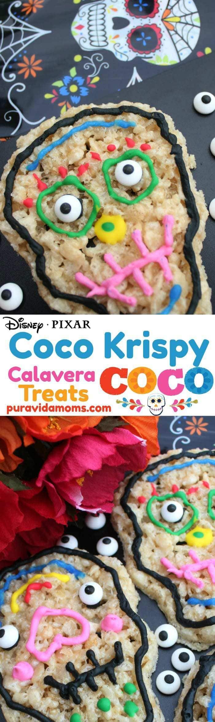 Coco Crispy Skull Treats Recipe