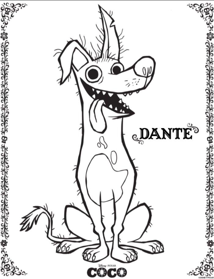 Dante 2- Disney Pixar's Coco