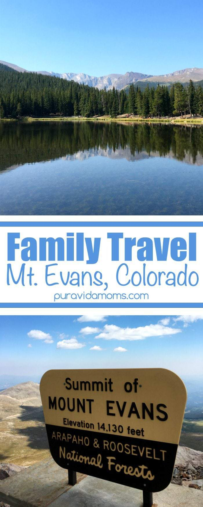 Family Travel to Mount Evans Colorado