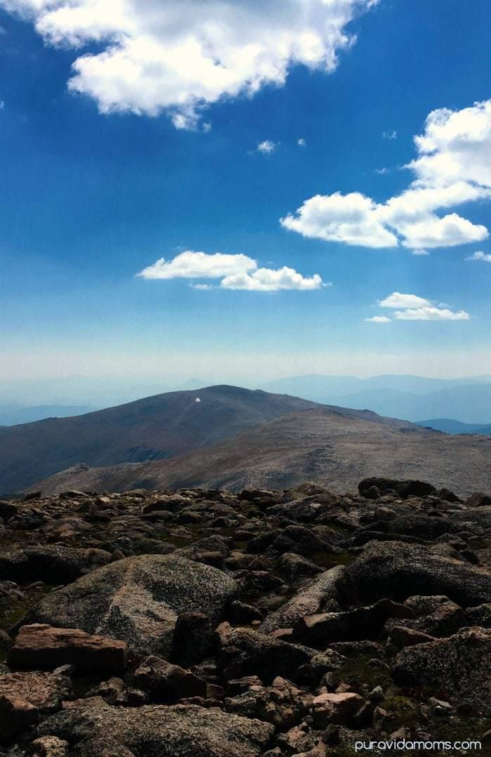 Summit of Mount Evans Colorado