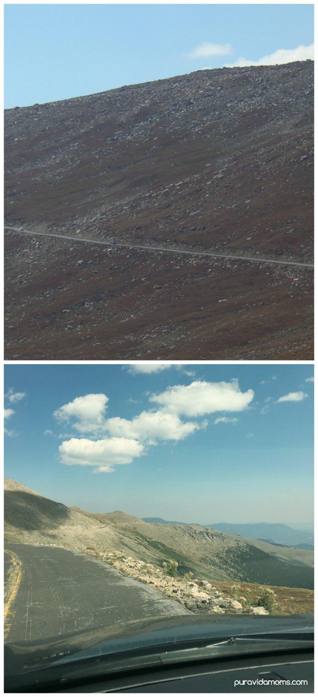 Views of the Road to Mount Evans Colorado