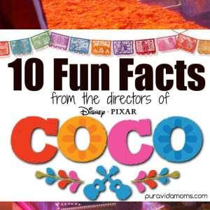 Disney Pixar Coco Fun Facts