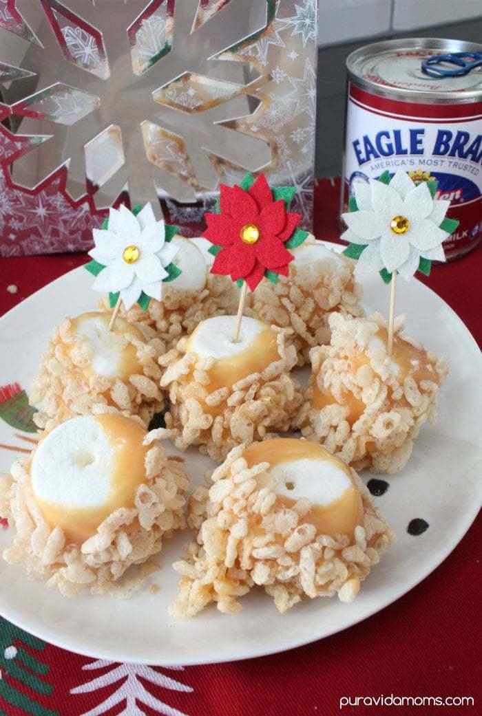 Easy Caramel Marshmallow Treats
