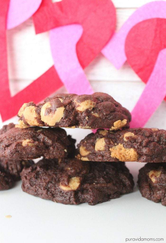 Chewy Peanut Butter Chip Chocolate Cookie Recipe