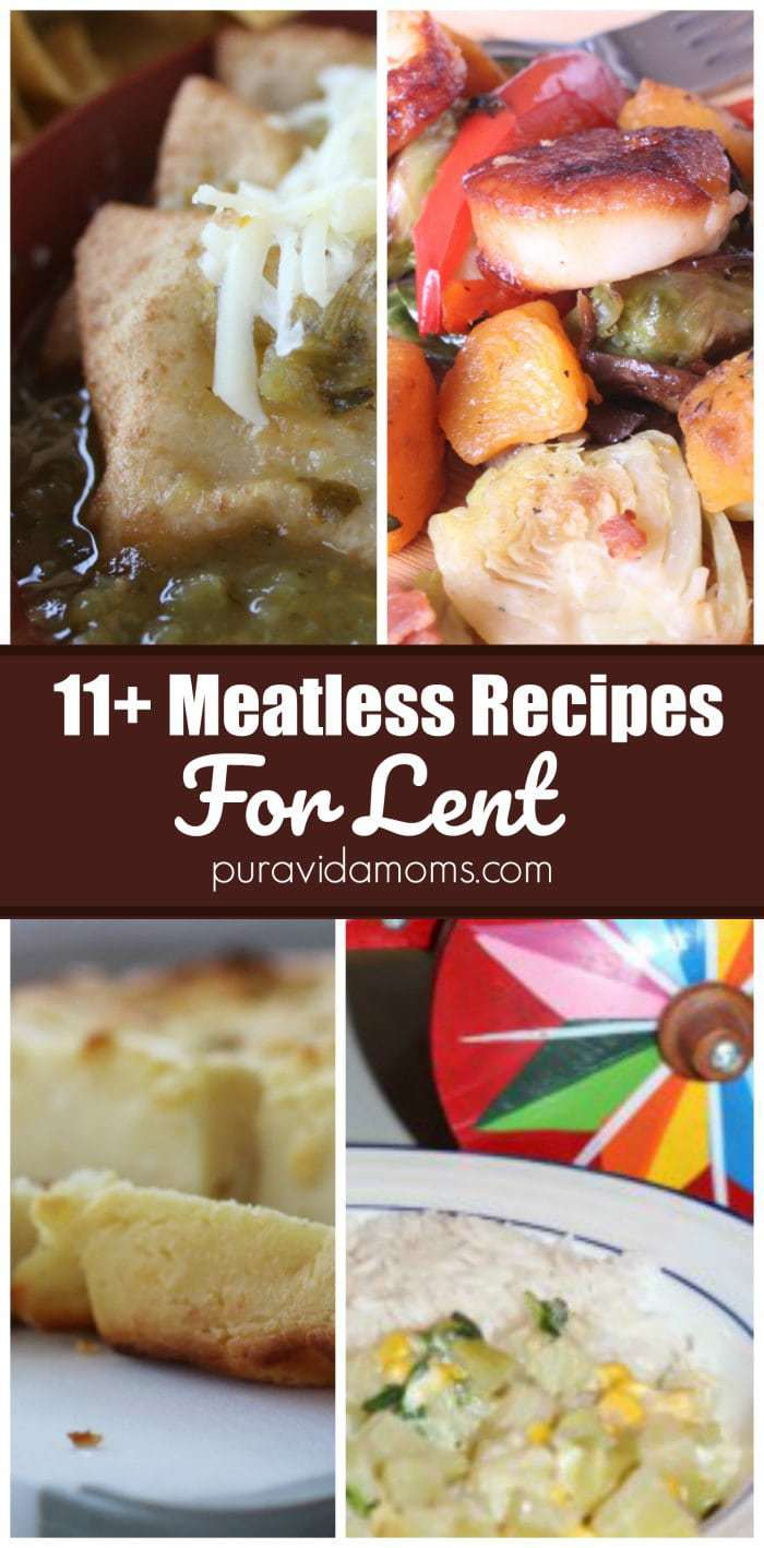 11 Meatless Recipes for Lent