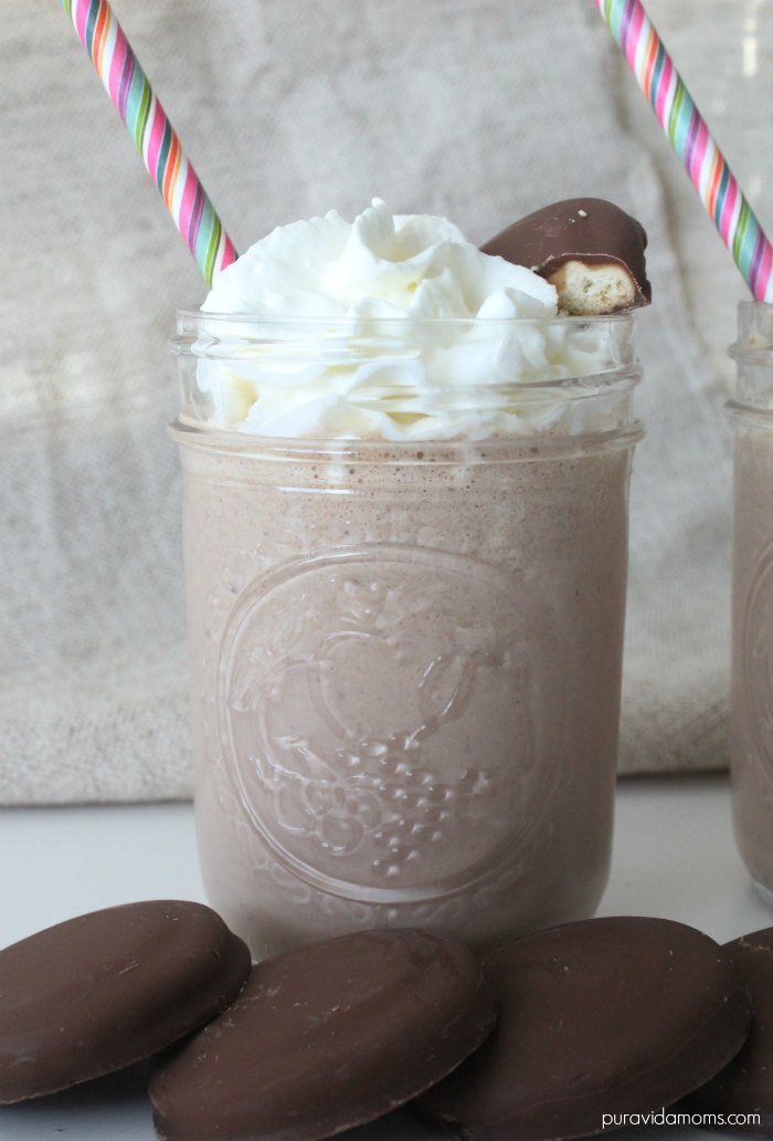 Girl Scout Cookie Tagalong Milkshake Recipe
