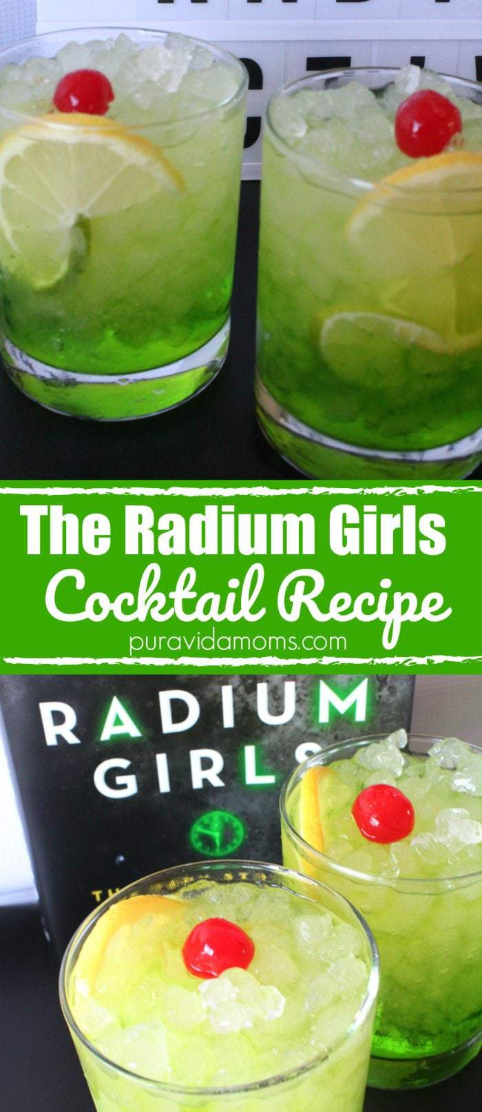 Radium Girls Cocktail Recipe
