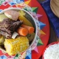 Costa Rican Vegetable Beef Soup Recipe