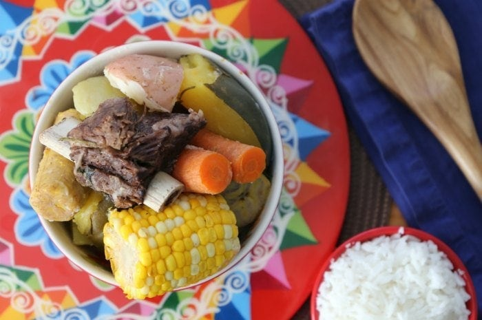 We're celebrating Hispanic Heritage Month with our favorite Costa Rican soup dish! This hearty Costa Rican vegetable beef soup is packed with healthy vegetables and super easy to prepare.