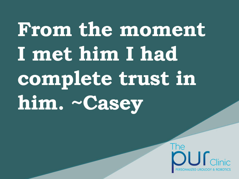 Casey Testimonial
