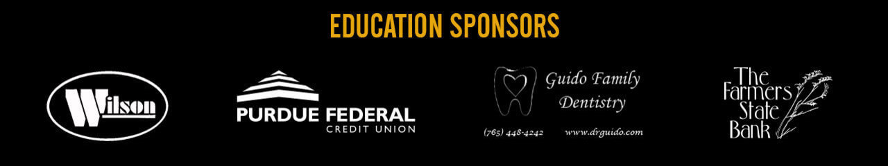 Wilson, Purdue Federal Credit Union, Guido Family Dentistry, The Farmers State Bank