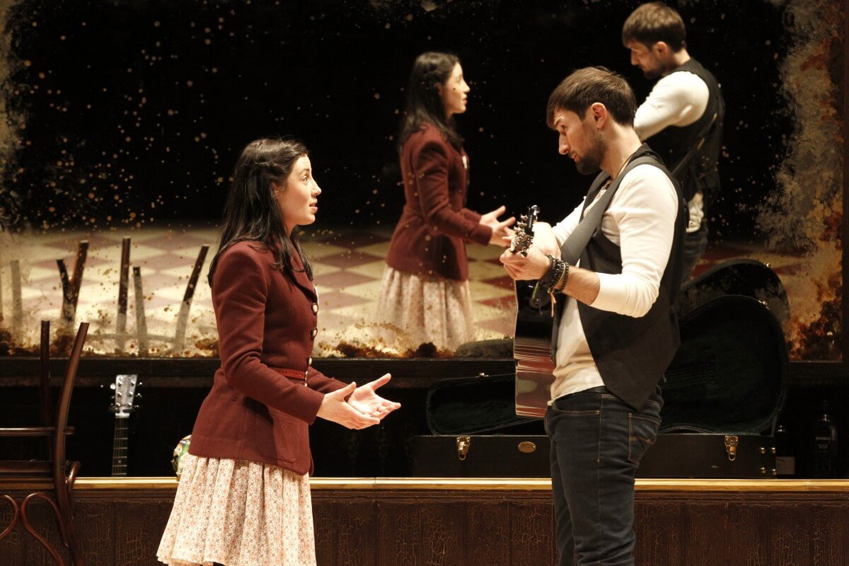 Scene from Once the Musical