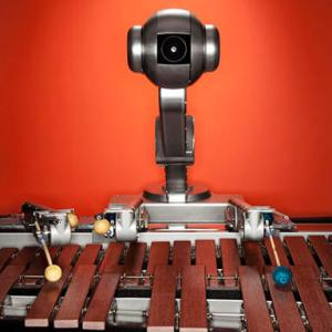 Shimon, the marimba playing robot