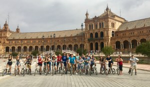 Biking in Seville