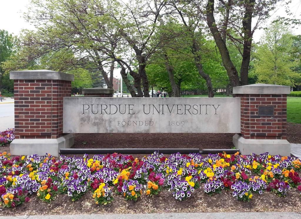 Purdue Sign
