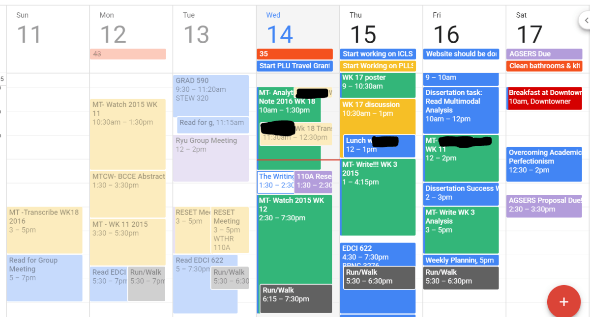 Mavs' Tips and Tricks with Google Calendar
