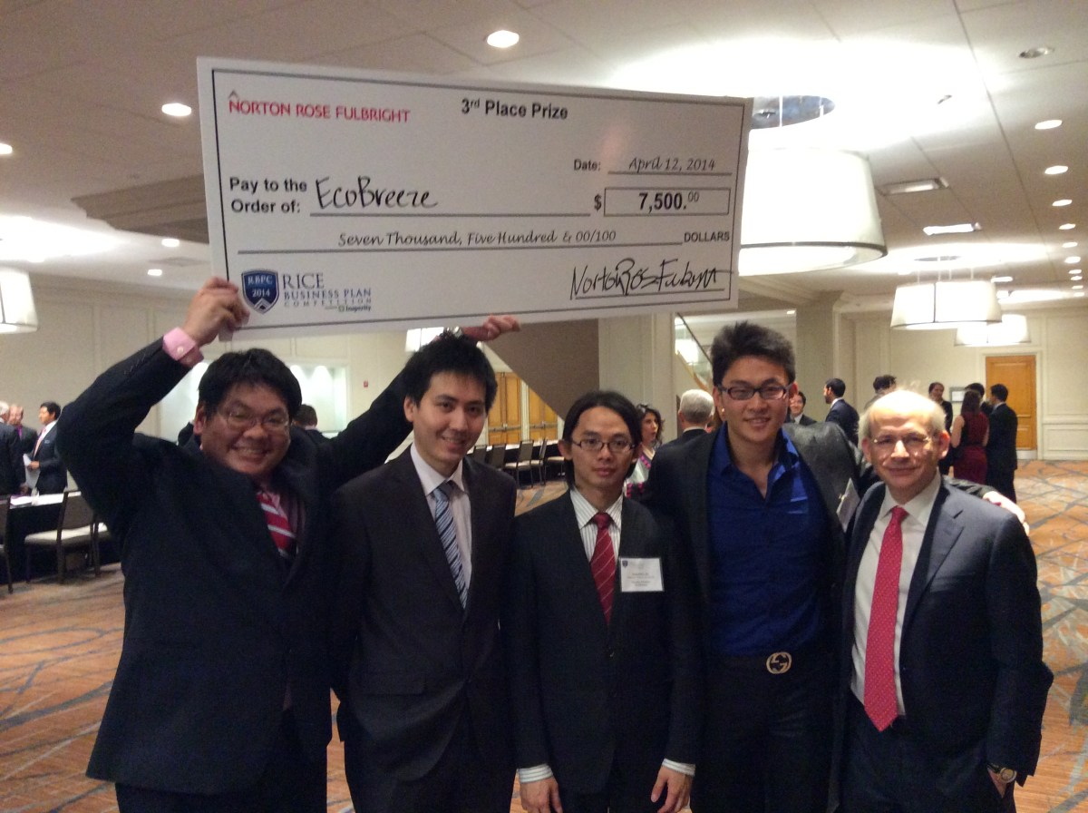 Great Experience at the Rice Business Plan Competition