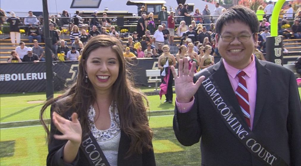 Graduate Student in Purdue Homecoming Court