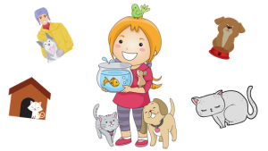 image of pets for animal books list