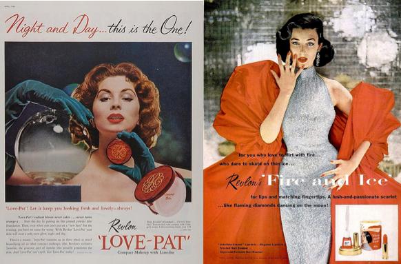 revlon publicités vintage années 60
