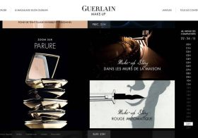 Guerlain MAKE-UP … et Guerlain entra dans l'ère digitale