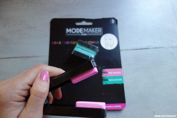 elite models accessoires craie colorée pour les cheveux / hair color chalk