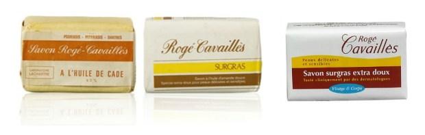 évolution du savon surgras roge cavailles 1924-2014