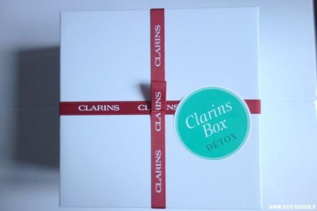 clarins box : Clarins Box Détox