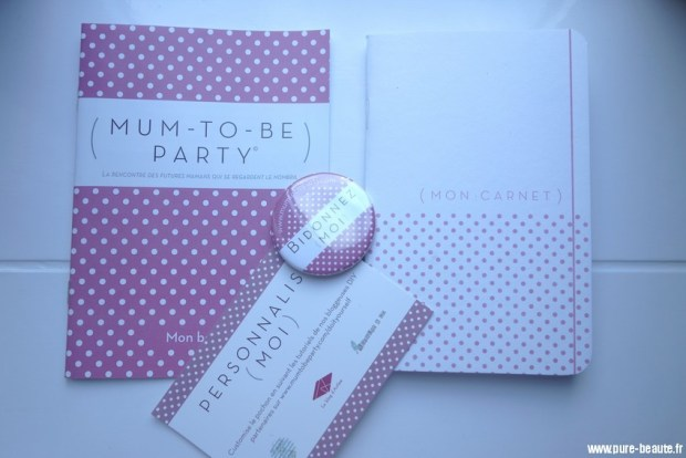 accessoires mum-to-be party