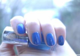 Vernis Color Crush The Body Shop : Bleue de toi