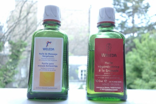 huiles végétales weleda