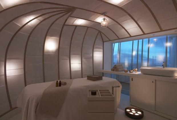 spa six senses cabine