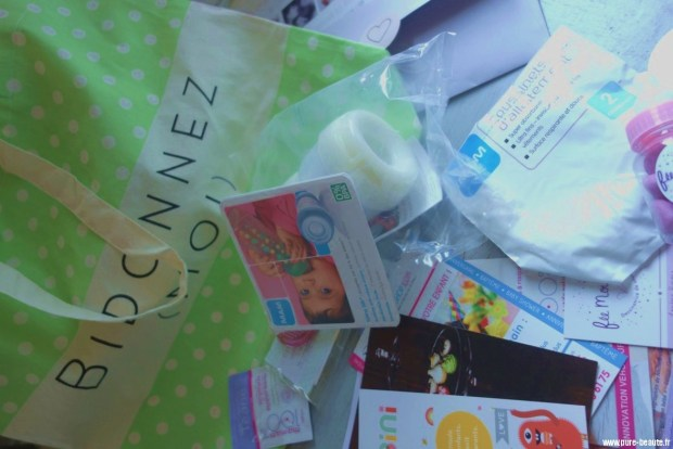 mum-to-be party goodies bag