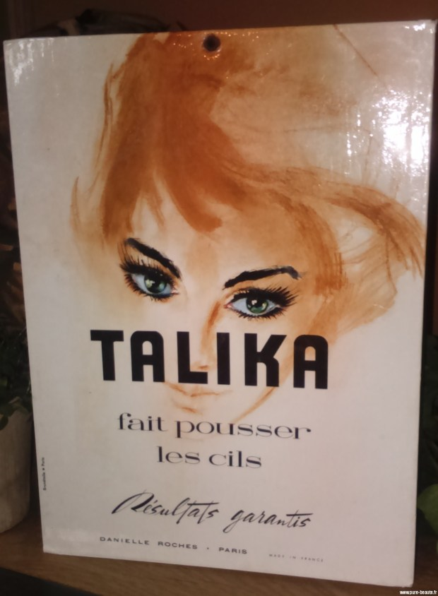 Talika fait pousser les cils