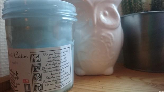 bougies parfumées de Charroux