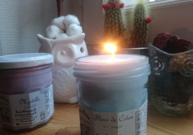 Les bougies parfumées de Charroux