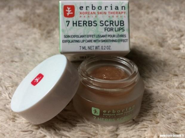 Soin exfoliant effet lissant pour les lèvres - Erborian