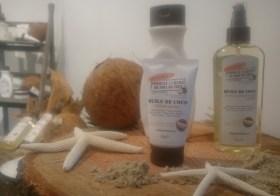 Destination Tahiti avec les produits à l'huile de noix de coco Palmer's