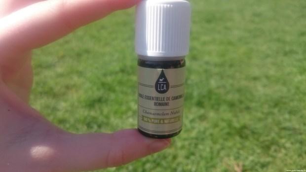 lca huile essentielle camomille