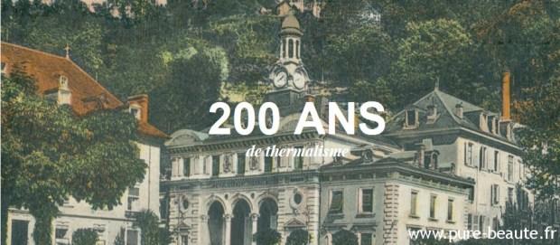 Uriage, 200 ans de thermalisme