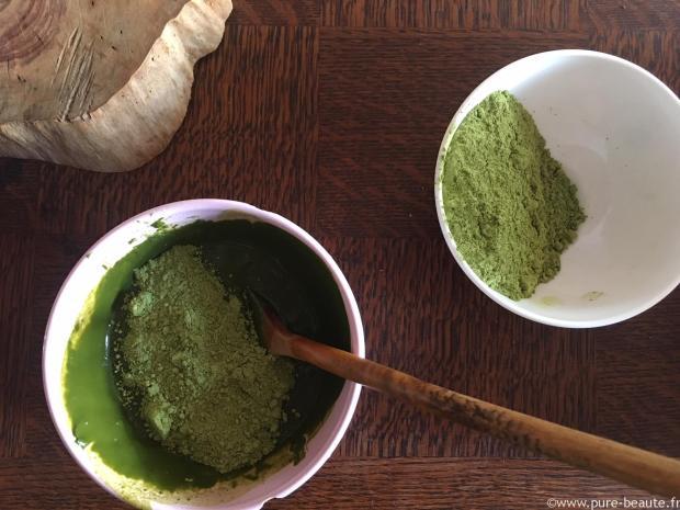 préparation coloration végétale aroma-zone