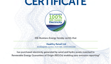 Introducing renewable energy at our shops