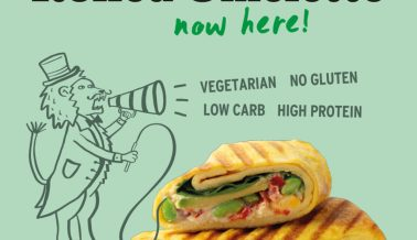 The veggie Rolled Omelette is HERE!