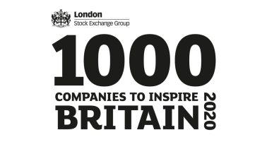 1000 Companies to Inspire Britain 2020