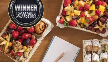 We Won! Workplace & Catering Retailer Award 2020