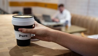 Delicious coffee, free vegan milk & a 50p reusable cup discount!