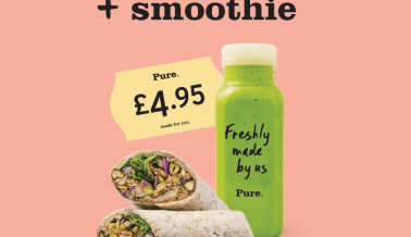 Wrap + Smoothie Meal Deal at Camden
