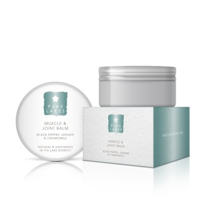 Pure Lakes Black Pepper Ginger & Chamomile Muscle and Joint Balm