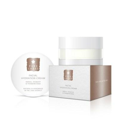 Pure Lakes Neroli, Rosehip & Frankincense Facial Hydration Cream