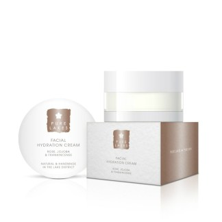 Pure Lakes Rose, Jojoba & Frankincense Facial Hydration Cream